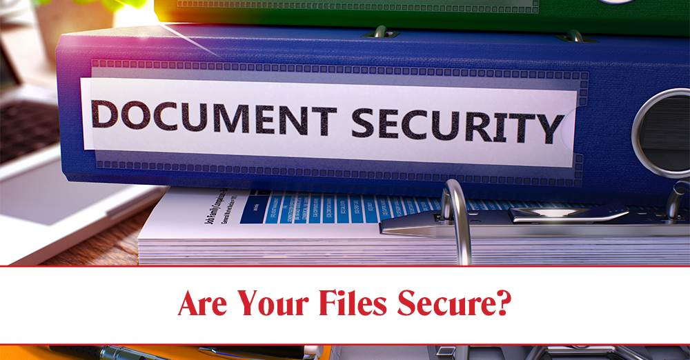 Document Security in Mobile, AL